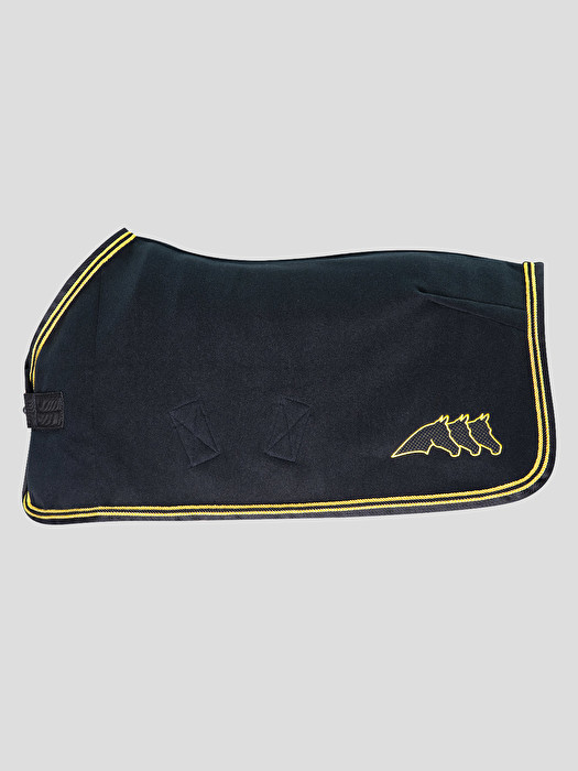 Ulexite Polar Fleece Horse Rug Black
