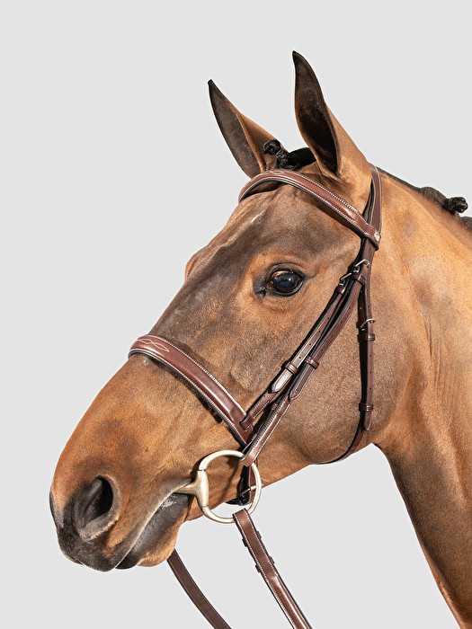 CLASSIC HUNTER BRIDLE - HUNTER CLASSIC BRIDLE BROWN | Equiline